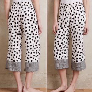 E by Eloise polka dot crop sleep pants